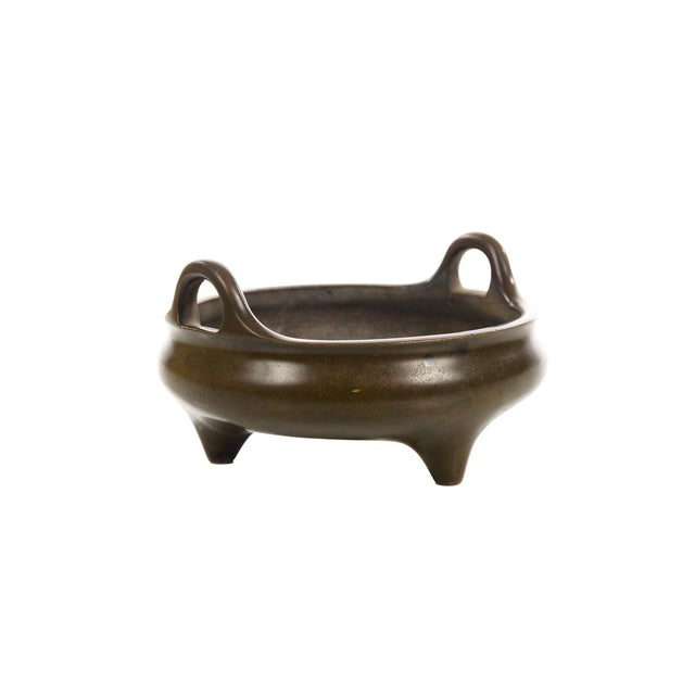 Chinese Patinated Bronze Censer - Image 2 of 7
