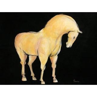 Sienna Tang Horse I Painting by Heidi Lanino