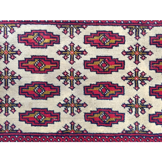"Turkaman Persian Handmade Rug - 1'8"" x 3'5"" - Image 4 of 9"