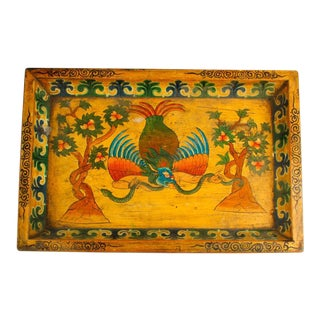 Chinese Hand Painted Tray