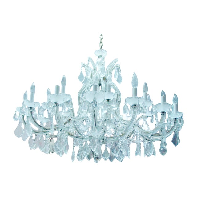 Maria Theresa 16 Arm Chrystal Chandelier - Image 1 of 7