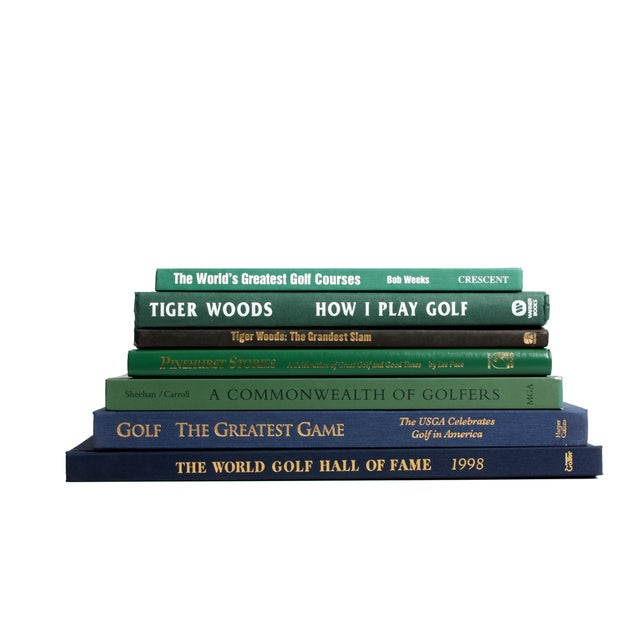 Vintage Golf Selection Books - Set of 7 - Image 2 of 3