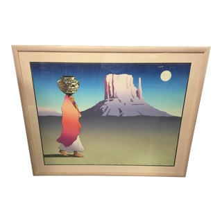 Signed R C Gorman Limited Edition Lithograph