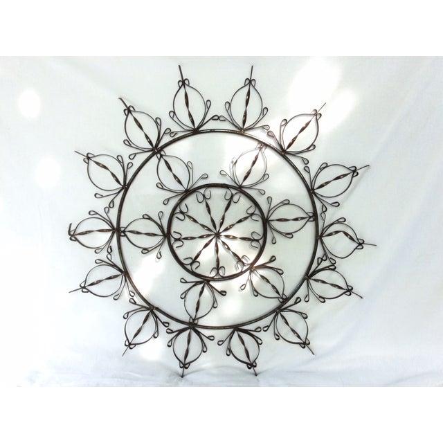 Ornate Metal Wall Hanging - Image 2 of 4