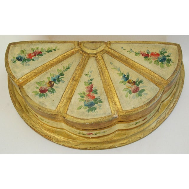 1940s Italian Florentine Jewelry Box - Image 3 of 7