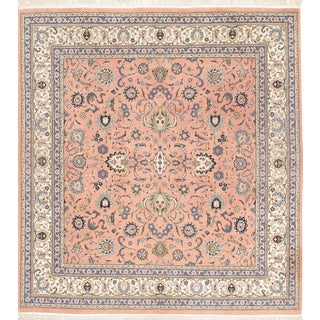 "Pasargad N Y Kashan Hand-Knotted Area Rug - 6'2"" X 6'7"""