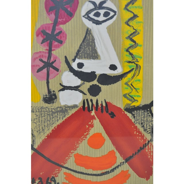 Image of Pablo Picasso Imaginary Portrait Color Lithograph