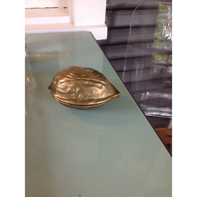 Image of Brass Walnut Nutcracker
