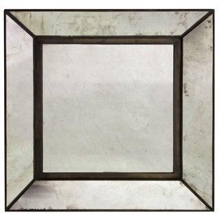 Geometric Mid-Century Mirror
