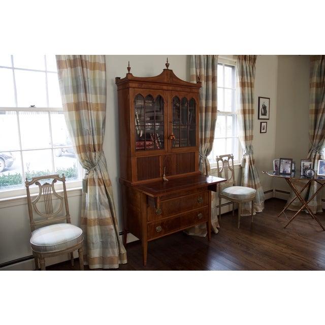 Antique Federal Style Mahogany Secretary Desk - Image 3 of 10