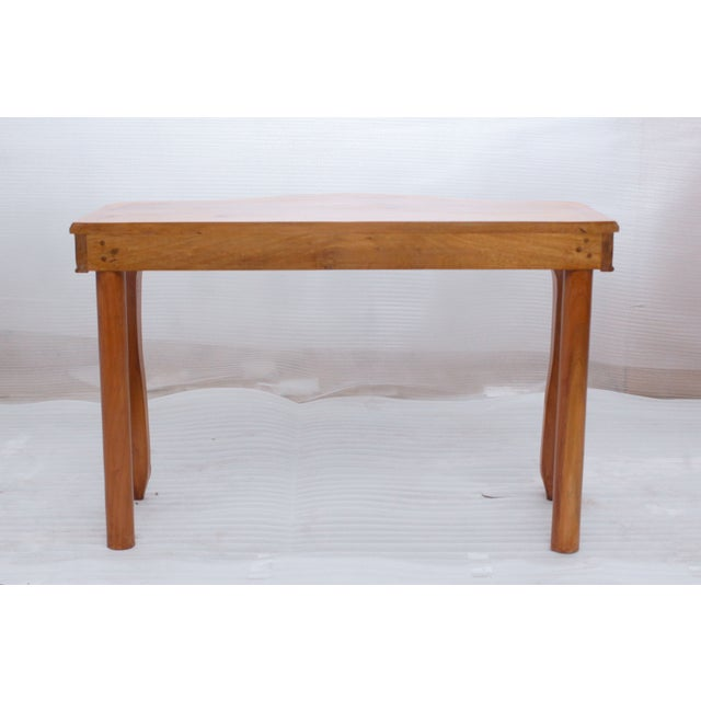 Image of Finished Henna Wood Juliette Console Table