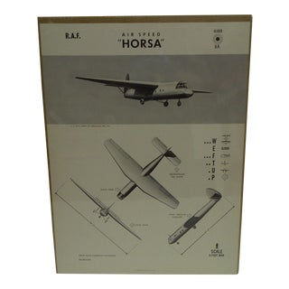 Vintage WWII Aircraft Recognition Poster