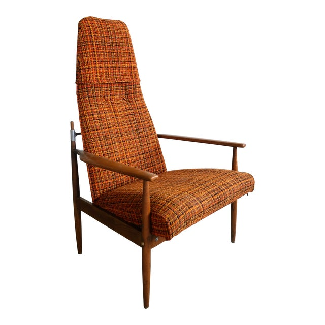 Peter Hvidt High Back Chair - Image 1 of 5
