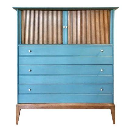 Mid-Century Tallboy Dresser - Image 1 of 7
