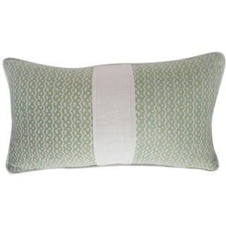 Fortuny Sulphur Green Tapa Pillow