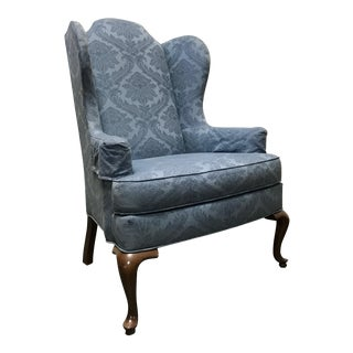 Drexel Classics Queen Anne Wingback Wing Chair