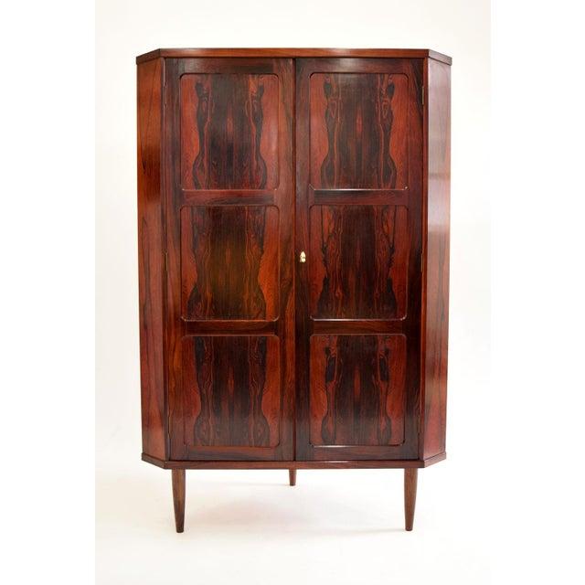Arne Wahl Iversen Attri. Danish Rosewood Cabinet - Image 2 of 10