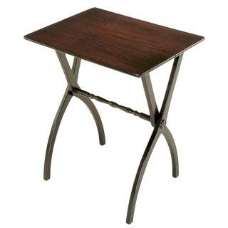 19th Century Mahogany Folding Coach Table