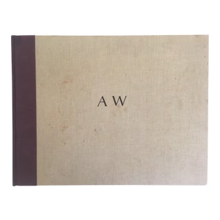 """""""Aw Andrew Wyeth"""" Vintage 1968 1st Edition Oversized Xlrg Collector Art Book"""