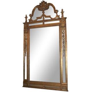 Massive Gilded Mirror