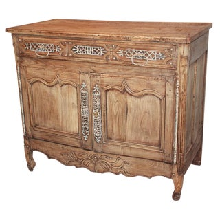 18th c. French Bleached Oak Buffet