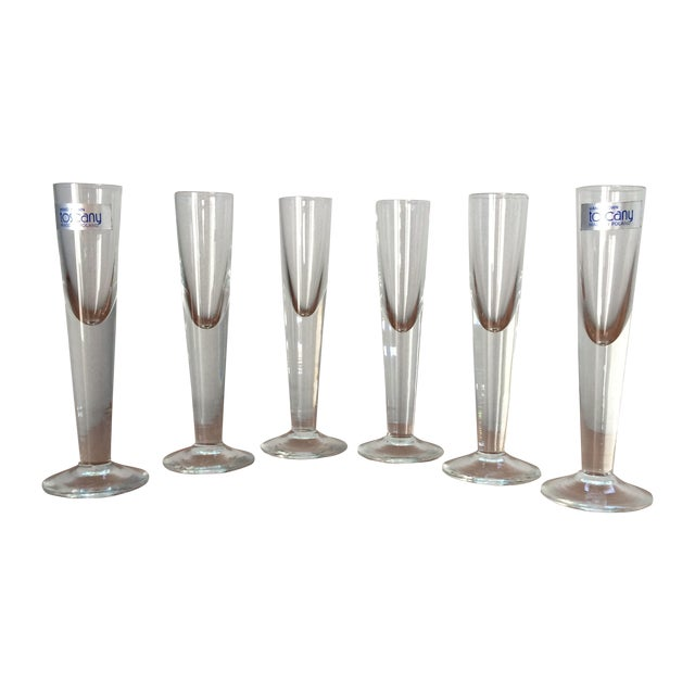 Vintage Cordial Glasses - Set of 6 - Image 1 of 11