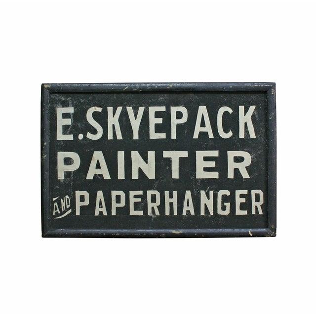E. Skyepack Painter & Paperhanger Sign - Image 1 of 3