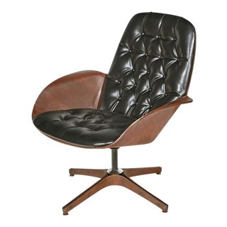 George Mulhauser Mid Century Swivel Chair