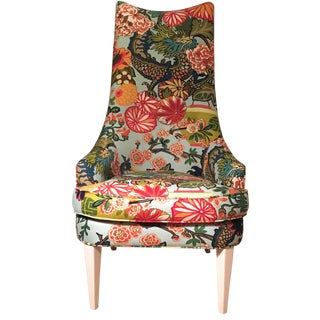 Jonathan Adler Occasional Chair in Chiang Mai Dragon