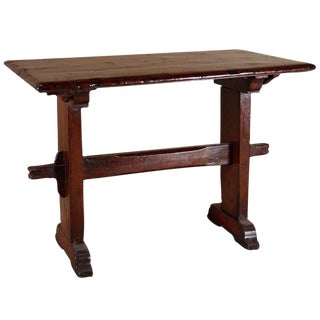 Baroque Elm Wood Table