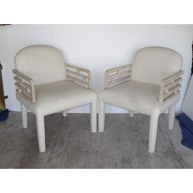 Image of Springer Style Armchairs - A Pair