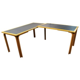 Danish Modern Scandinavian Desk by Magnus Olesen