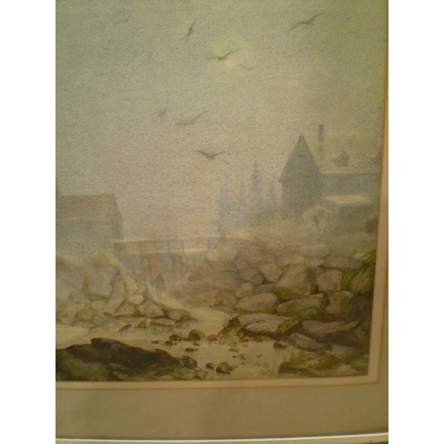 Annisquam Lighthouse Cape Ann Watercolor - Image 4 of 6