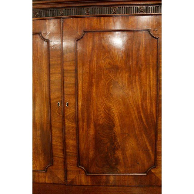 18th Century George III Period Linen Press - Image 6 of 8