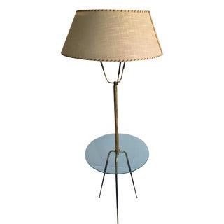 1950's Italian Brass Floor Lamp by Stilnovo