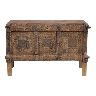 Antique Swat Valley Dowry Chest