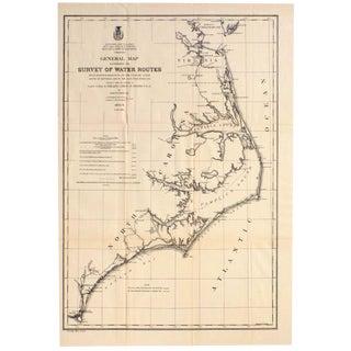 Mid Atlantic Survey Chart, 1878