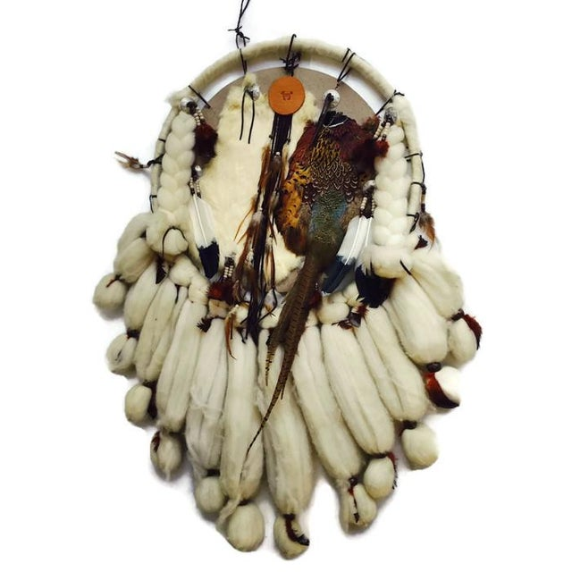 Vintage Native American Dream Catcher - Image 5 of 8