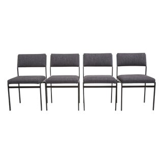 Cees Braakman Style Dining Chairs - Set of 4
