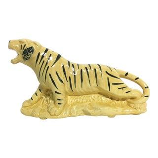Vintage Tiger Planter