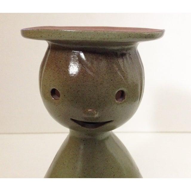 Vintage MCM Stoneware Designs Figural Planter - Image 8 of 8