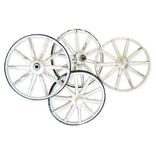 Antique Buggy Wheels - Set of 4