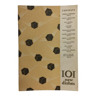 101 New Dishes, Book