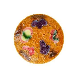 French Majolica Fruit Platter