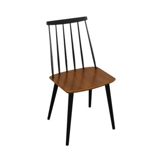 Danish Modern Teak Side Chair by Farstrup