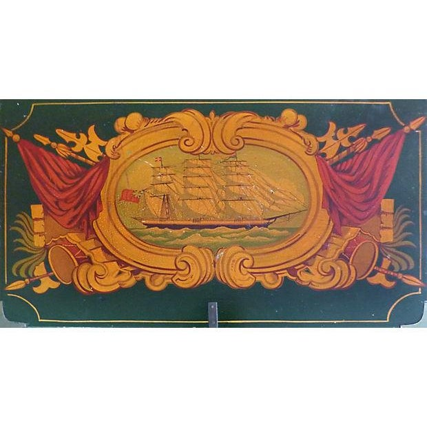 Painted Nautical Theme Dresser - Image 5 of 10