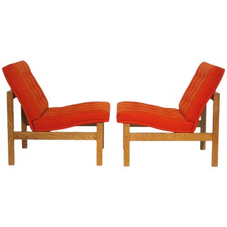 Ole Gjerløv-Knudsen and Torben Lind Easy Chairs - A Pair