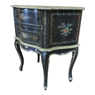 Florentine Scenic Painted Nightstand