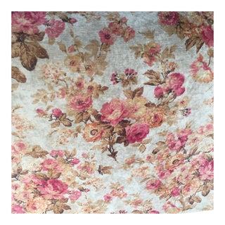 Floral Printed Velvet Fabric