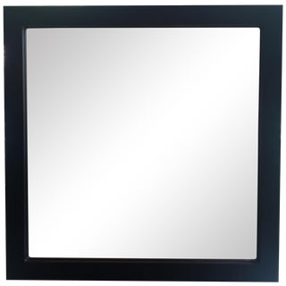 Black Square Mirror